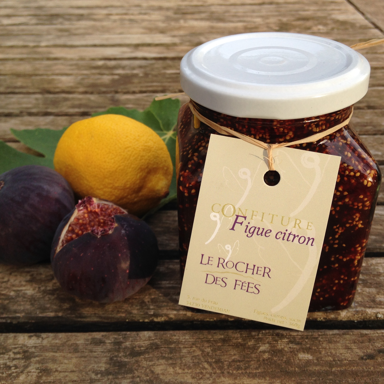 confiture figues citron